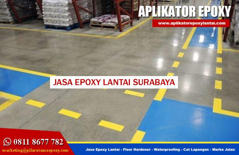 Kontraktor Jasa Epoxy Lantai Surabaya Terpercaya