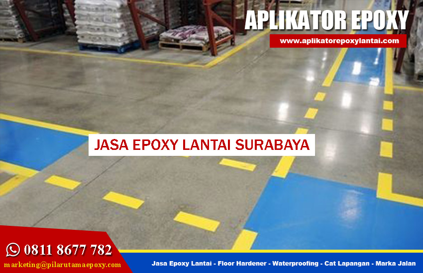 Jasa Epoxy Lantai Surabaya